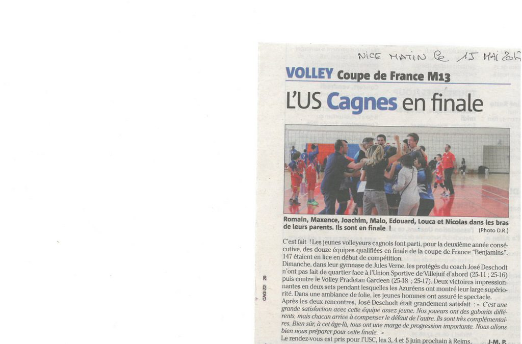 U.S. CAGNES VOLLEY